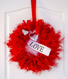 Love garland Royalty Free Stock Images