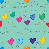 Love gasses land seamless pattern royalty free illustration