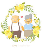 Love generation greeting card Royalty Free Stock Photo