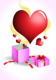 Love gift Royalty Free Stock Images