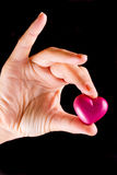Love gift Stock Image