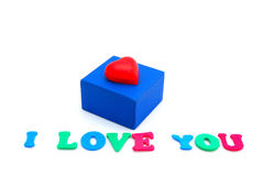 Love gift Royalty Free Stock Image