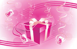 Love Gift boxes Stock Photography