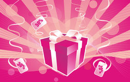 Love Gift boxes Royalty Free Stock Image
