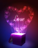 Love Gift Concept Royalty Free Stock Image