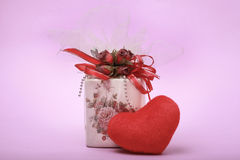Love gift. Gift for someone special like valentines day Stock Image