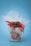 Love gift. Which is the most appropriate gift for a loved one Royalty Free Stock Photos