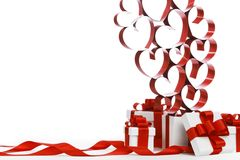 Love gifts Royalty Free Stock Photos