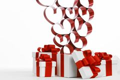 Love gifts Royalty Free Stock Photo