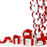 Love gifts Royalty Free Stock Photography
