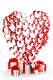 Love gifts Royalty Free Stock Images