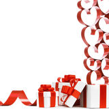 Love gifts Stock Photography