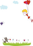 Love Girl Stock Image