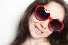 Love glasses Stock Photography