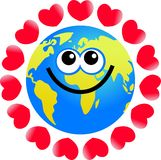 Love globe Stock Images