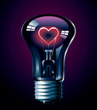 Love glow Royalty Free Stock Images