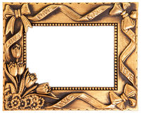 Love gold frame Royalty Free Stock Images