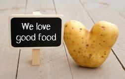 We love good food Stock Photo