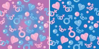 Love gradient pattern Stock Photos