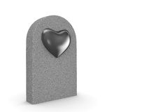 Love grave Stock Image