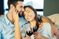 Love is a great feeling. Royalty Free Stock Photos