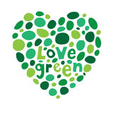 Love green Royalty Free Stock Image