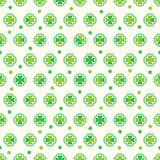 Love green sticker St. Patrick seamless pattern. This illustration is abstract St. Patrick Day with four love clover sticker symmetry and free flight in light Stock Images