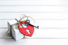 With love greeting Royalty Free Stock Photography