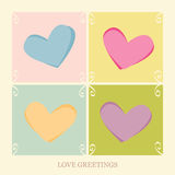 Love Greetings Royalty Free Stock Photos