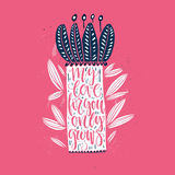 Love Grows Royalty Free Stock Images