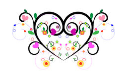Love grows like a flower Royalty Free Stock Photos