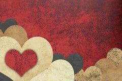 Love grunge textured background Stock Image