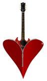 Love Guitar Stock Photography