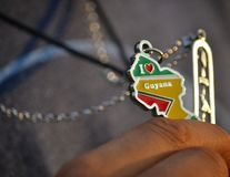 For the love of Guyana royalty free stock photo