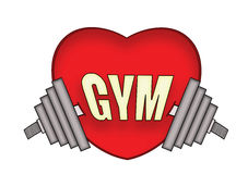 Love gym Royalty Free Stock Photo