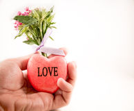 Love hand Royalty Free Stock Images