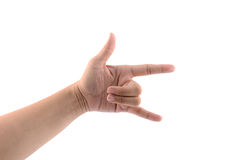 Love hand Stock Image