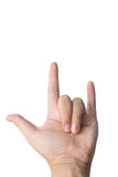 Love hand sign Stock Photo