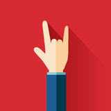 Love hand sign Stock Images