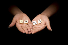 Love Hands Stock Images