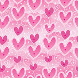 Love hang sky pink seamless pattern Royalty Free Stock Photography