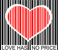 Love has no price Stock Images
