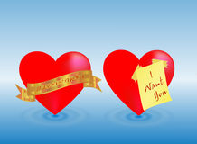 Love hart Stock Image
