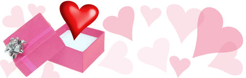 Love Header Royalty Free Stock Photography
