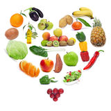 Love for the healthy food royalty free stock photography