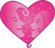 Love_heart Immagini Stock Libere da Diritti