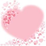Love heart stock image