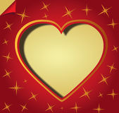 Love Heart. Valentine day red Love Heart Stock Images