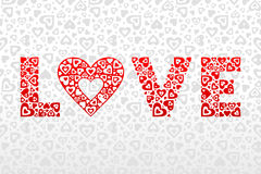 Love and heart Royalty Free Stock Photos