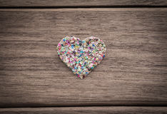 Love heart anniversary and valentine's day Royalty Free Stock Photos